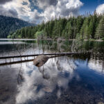 Černé jezero na Šumavě - největší přírodní jezero České republiky