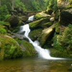 Vodopád Bílá strž - největší šumavský vodopád